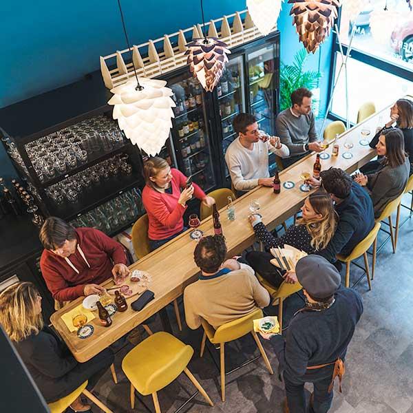 Privatisation de notre bar à bière à Lyon