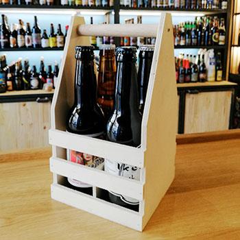 Coffret cadeau 4 bouteilles de bière