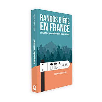 Cadeau, livre randos bières en France