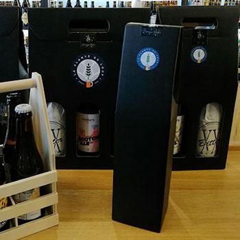 Pochettes cadeau pour Bière