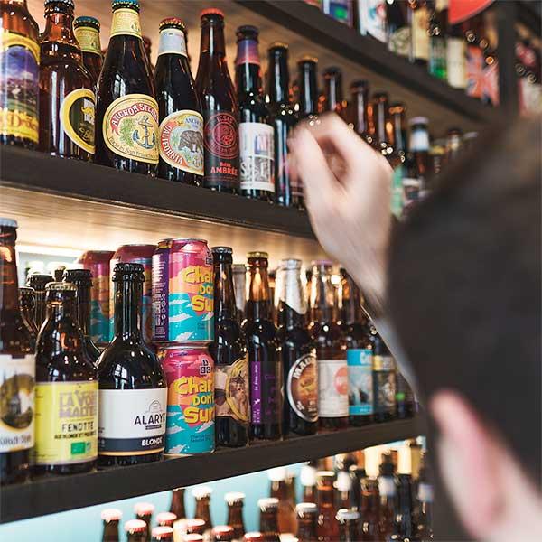 Choix Bière bar à bière