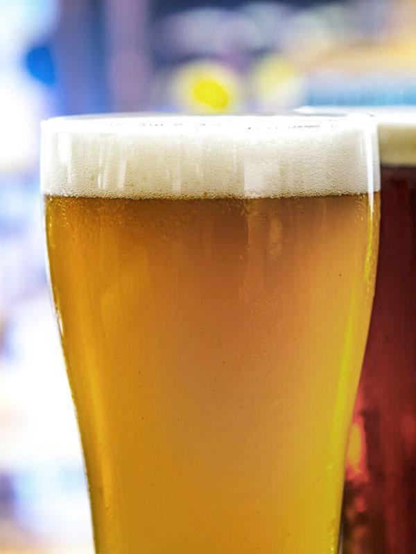 Pinte de bière en pression