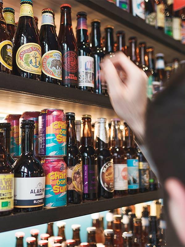 Cave à Bière à Lyon, vente à emporter